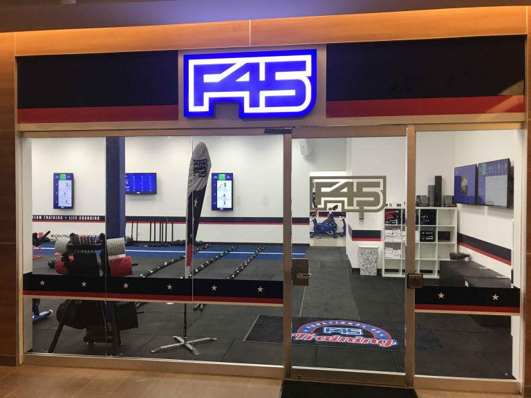 F45 Trusts Signarama Toronto East With Their Storefront