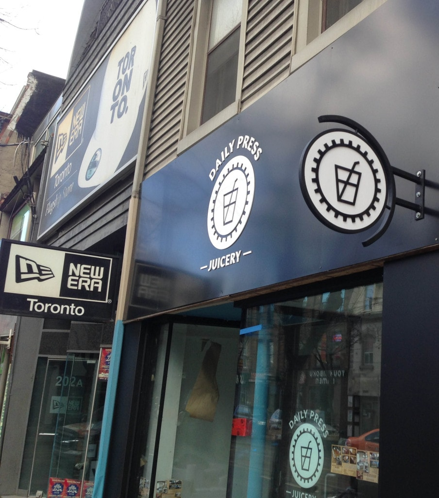 Exterior Non Illuminated 3d Signs A Great Solution For Your Tight Budget Sign A Rama Toronto