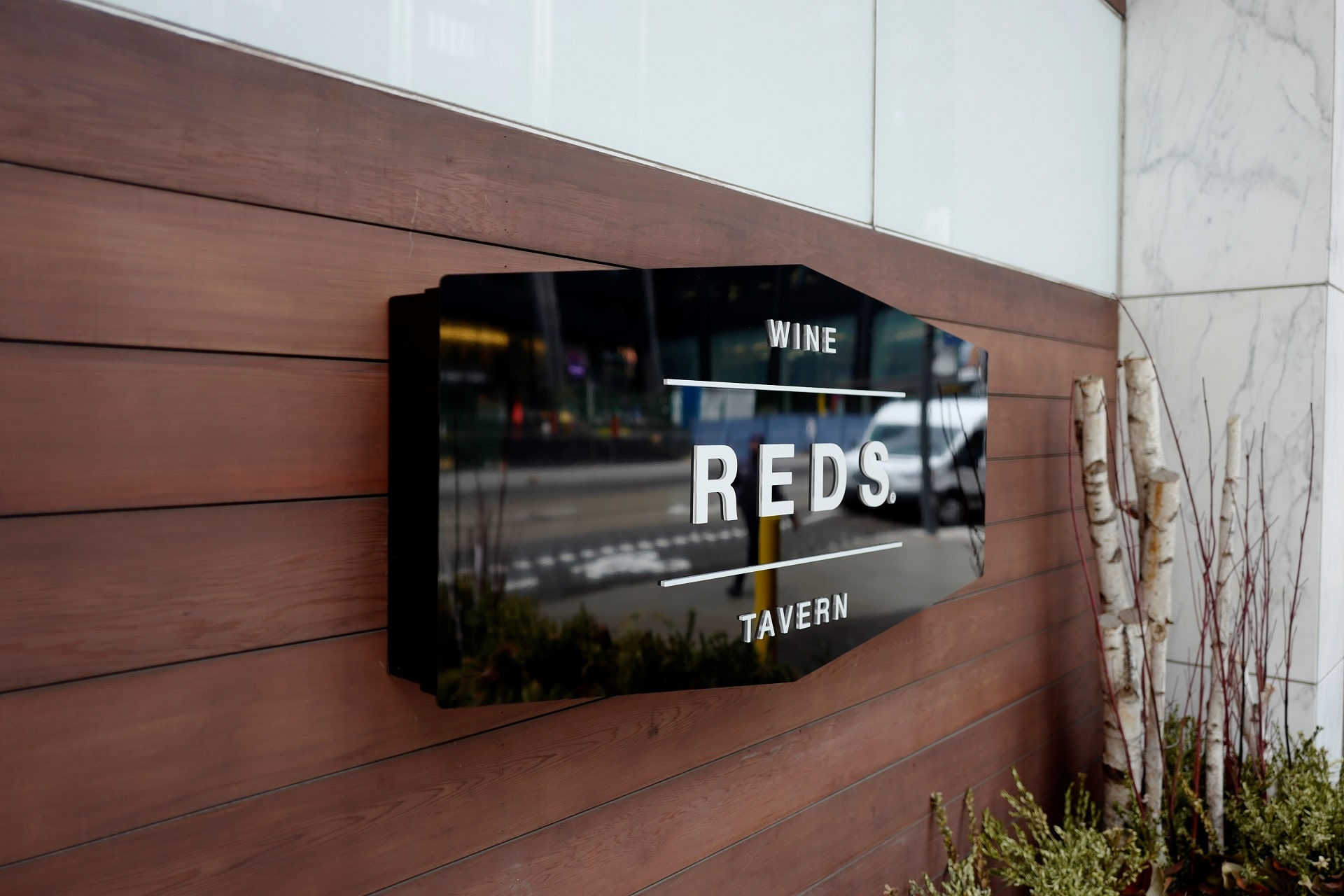Reds tavern sign by Signarama Toronto