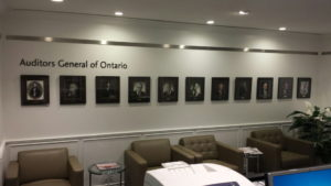 Auditor General of Ontario signs by Signarama Toronto