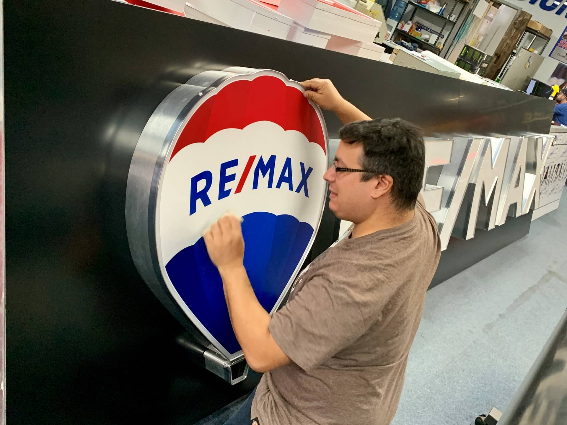 Remax signs by Signarama Toronto