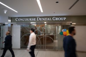 Concourse Dental Group storefront sign by Signarama Toronto