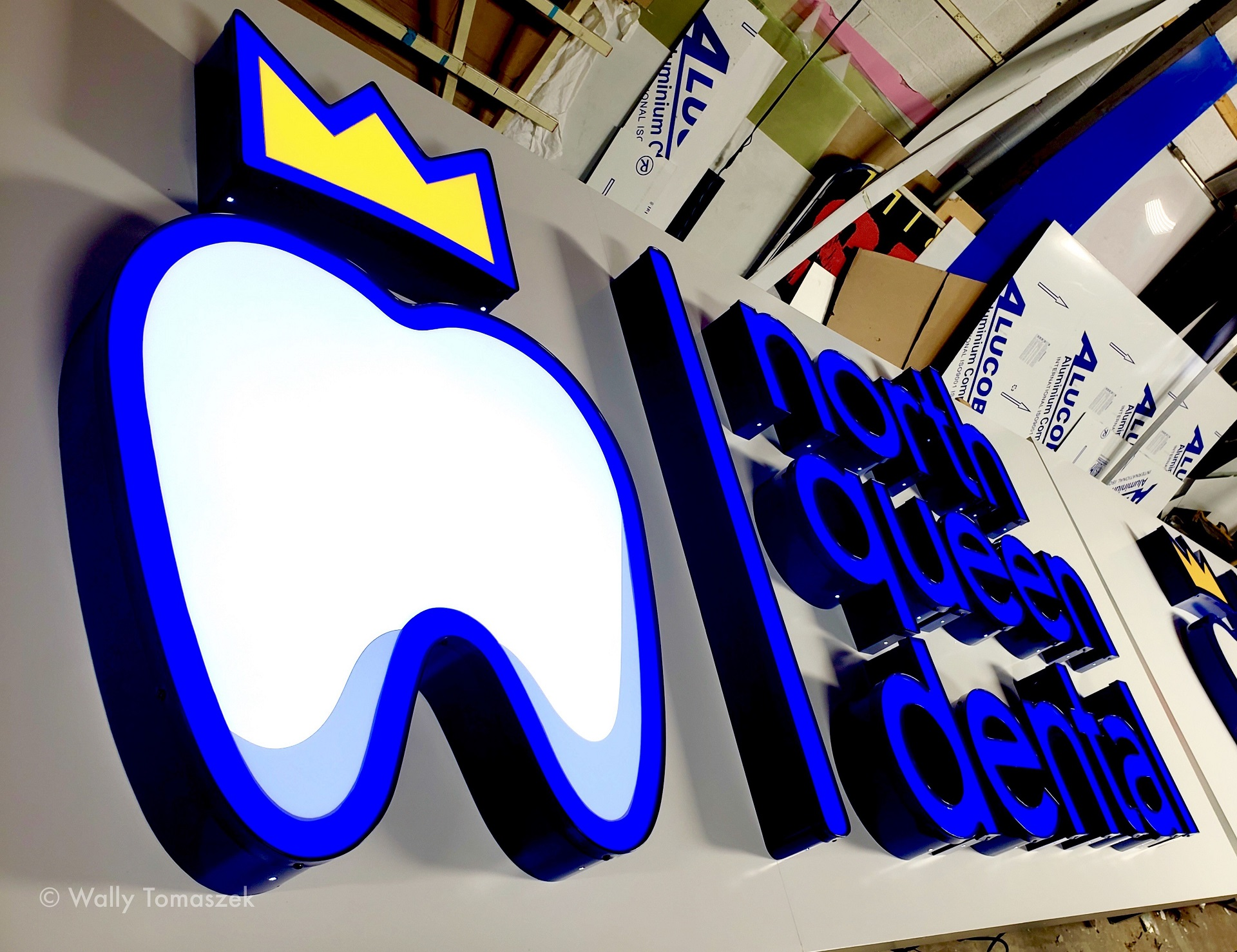 North Queen Dental Storefront Sign by Signarama Toronto