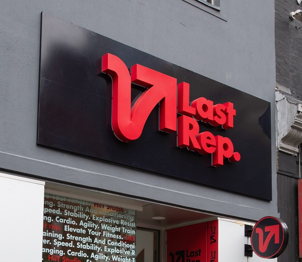 last rep perfect store front by signarama toronto