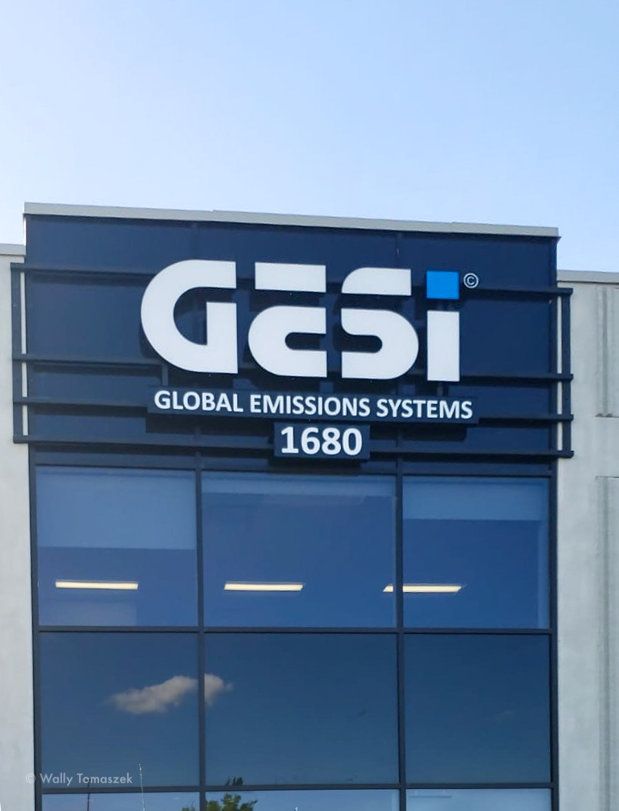 GESI signs by Signaram Toronto