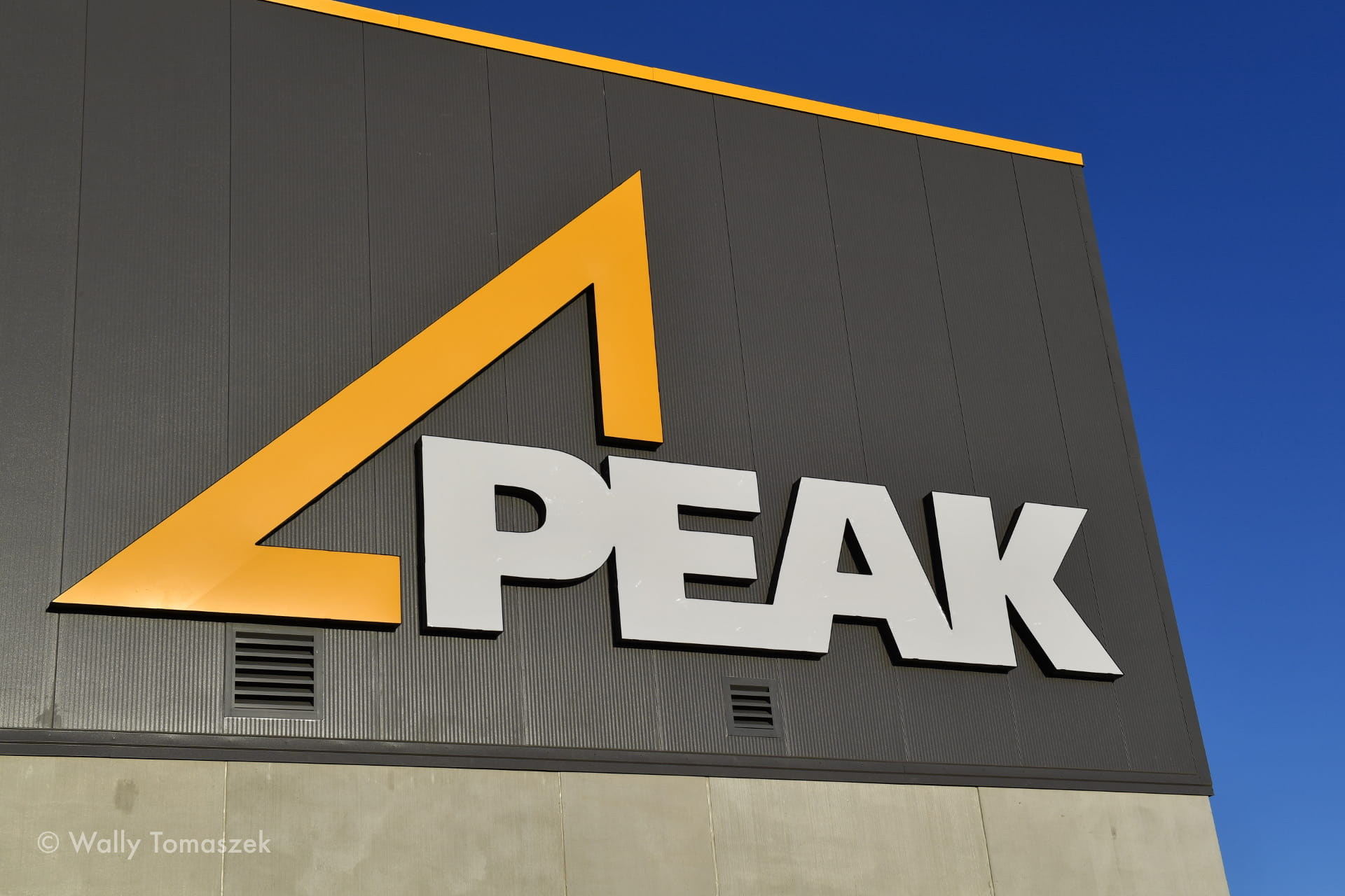 Peak group sign by Signarama Toronto