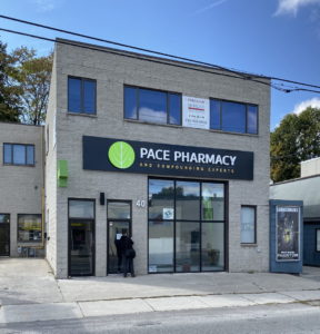 Pace pharmacy signs by Signarama Toronto