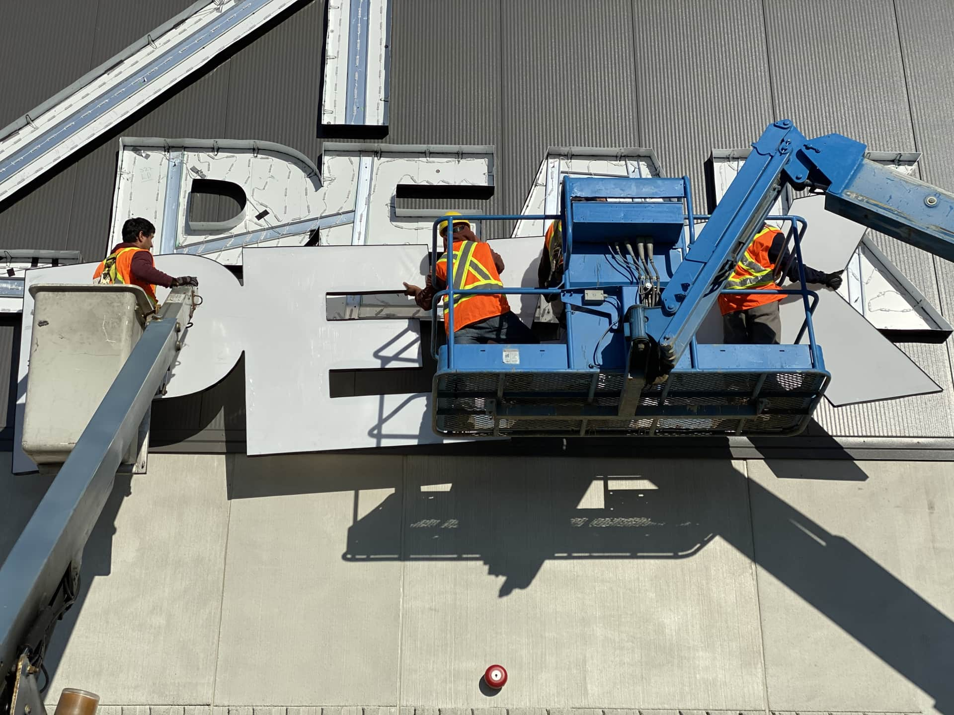 Peak group of companies sign installation