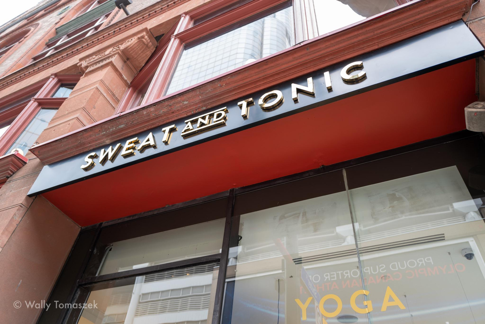 sweat and tonic signs by signarama toronto