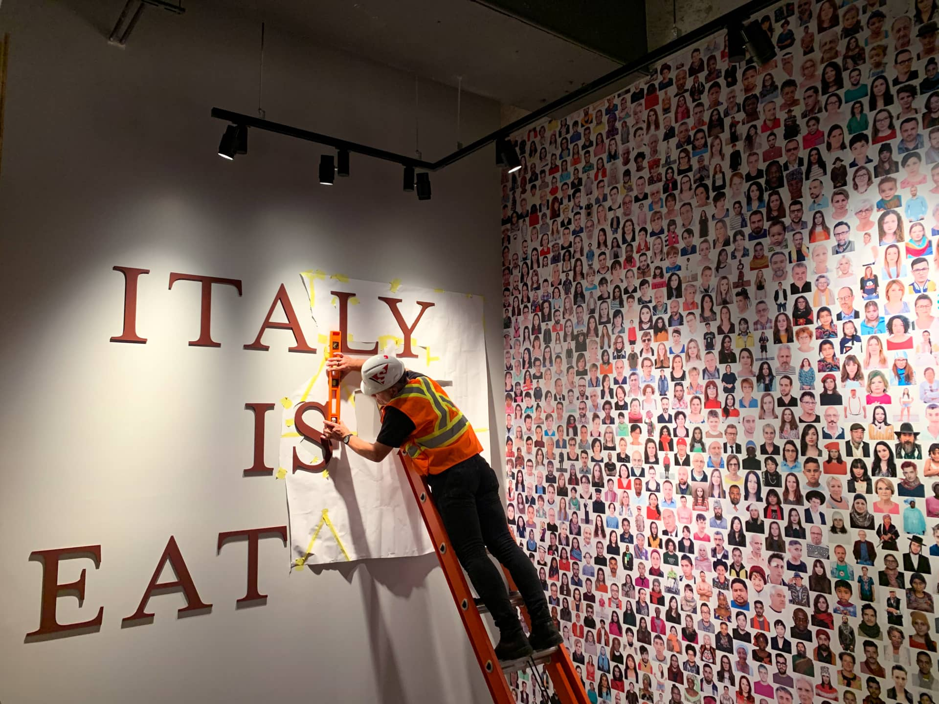 Eataly Sign installation by Signarama Toronto