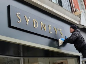 Sydneys sign by Signarama Toronto