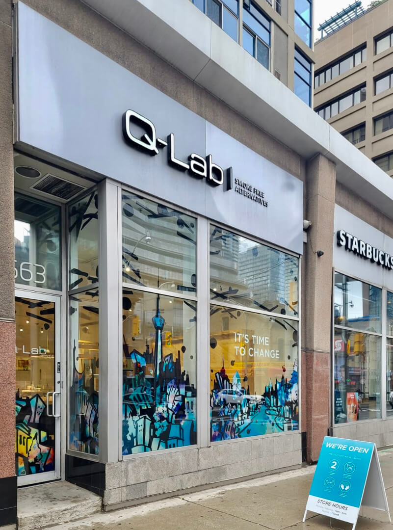 RBH QLab Storefront Signs by Signarama Toronto