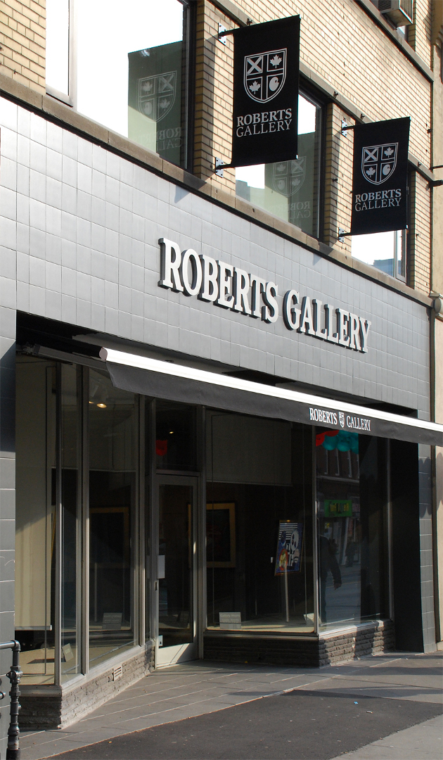 Roberts Gallery sign by Signarama Toronto
