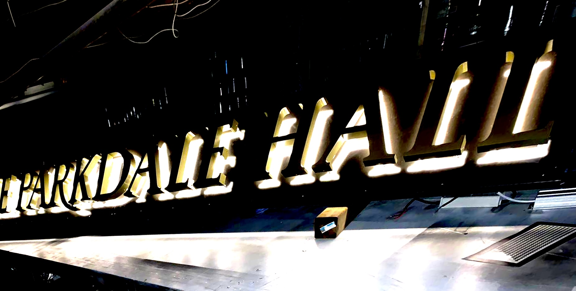 Parkdale Hall Signs by Signarama Toronto