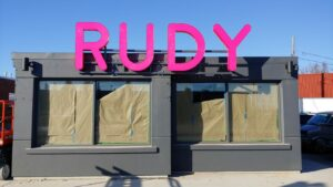 Rudy CHannel letters by Signarama Toronto
