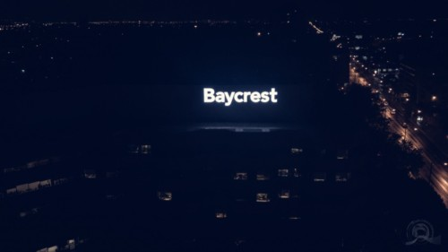 Baycrest sign by Signarama Toronto
