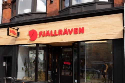 Fjallraven sign by Signarama Toronto