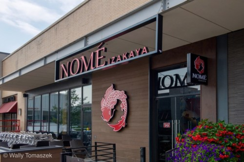Nome Izakaya 1 sign by Signarama Toronto