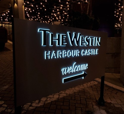 The Westin Illuminated signs by Signarama Toronto