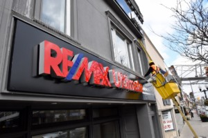 Sign A Rama at Remax Signage installation