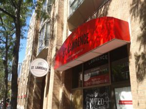 St. Lawrence Condos - awning and blade sign-1