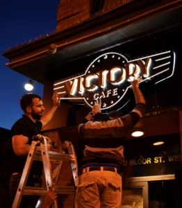 Victory-cafe our people