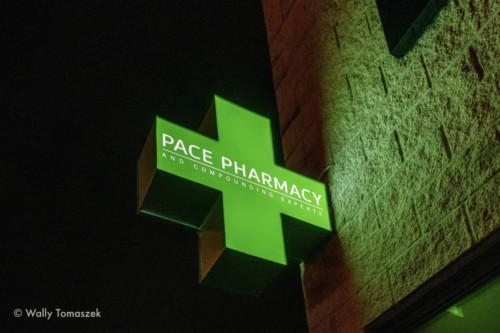 Pace Pharmacy Blade sign by Signarama Toronto