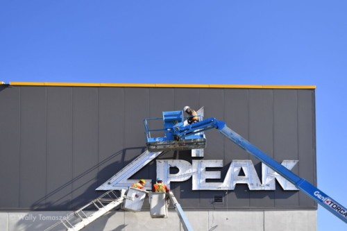 Peak Sign installation by Signarama Toronto