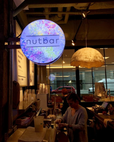 nutbar blade sign by signarama toronto